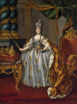 Portrait of Catherine II 2