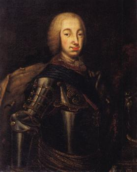 Portrait of grand duke peter fedotovich (later Peter III)