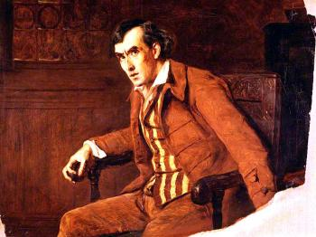 James Archer : Sir henry irving as mathias in the bells