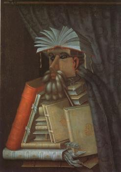 Giuseppe Arcimboldo : The Librarian