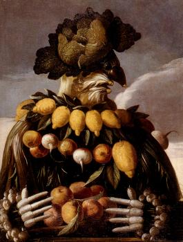 Giuseppe Arcimboldo : The Seasons Pic 1