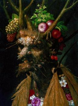 Giuseppe Arcimboldo : Four Seasons in One Head, c