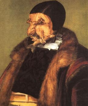 Giuseppe Arcimboldo : The Lawyer