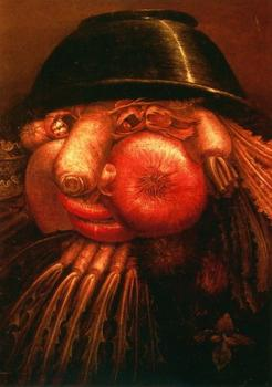 Giuseppe Arcimboldo : The Vegetable Gardener