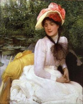 Girl in a Punt