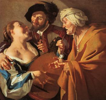 Graphic The Procuress