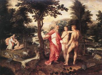 Jacob De Backer : Garden of Eden