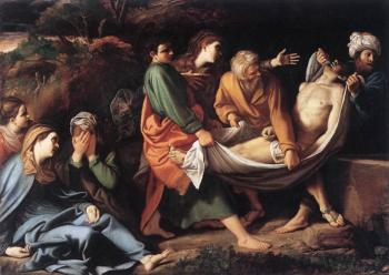 Sisto Badalocchio : The Entombment of Christ