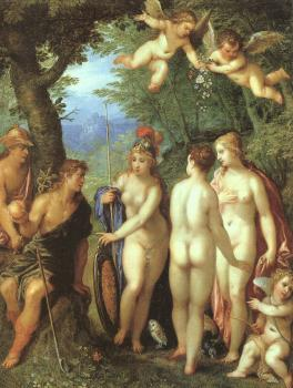 Hendrick Von Balen : Graphic The Judgement of Paris