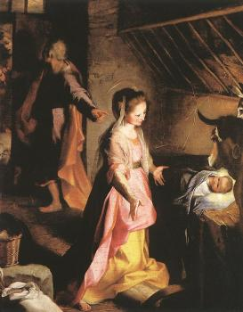 Federico Barocci : Graphic The Nativity