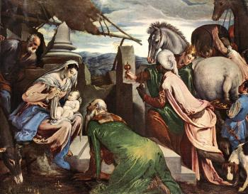 Jacopo Bassano : The Three Magi