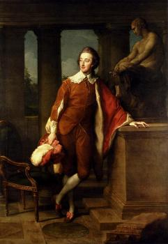 Pompeo Batoni : Girolamo Portrait Of Anthony Ashley Cooper
