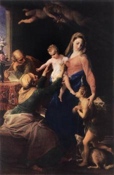Pompeo Batoni : Holy Family