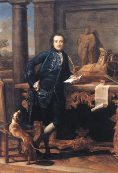 Pompeo Batoni : Portrait Of Charles Crowle