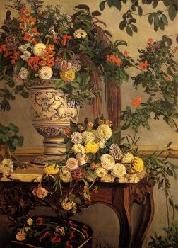 Frederic Bazille : Flowers