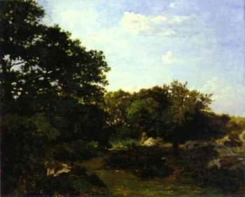 Frederic Bazille : Forest of Fontainebleau