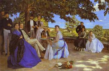 Frederic Bazille : Family Reunion
