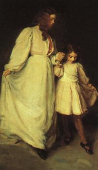 Cecilia Beaux : Graphic Dorothea and Francesca