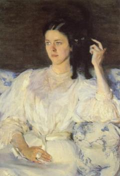Cecilia Beaux : Girl with a Cat