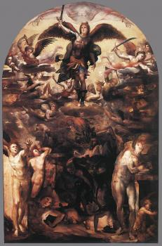Domenico Beccafumi : Fall of the Rebellious Angels