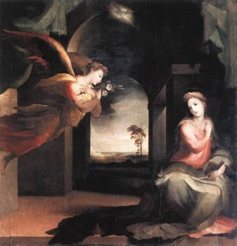 Domenico Beccafumi : The Annunciation