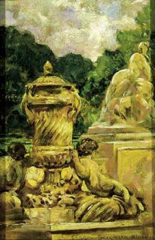 James Carroll Beckwith : Jardin de la Fontaine Aa Nimes, France