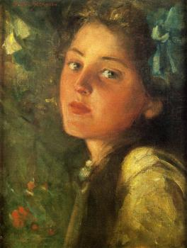 James Carroll Beckwith : A Wistful Look