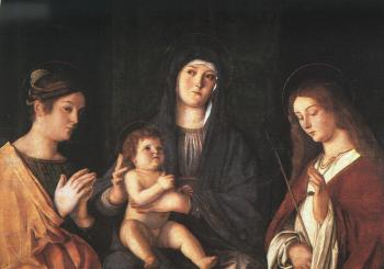 Giovanni Bellini : The Virgin and Child with Two Saints