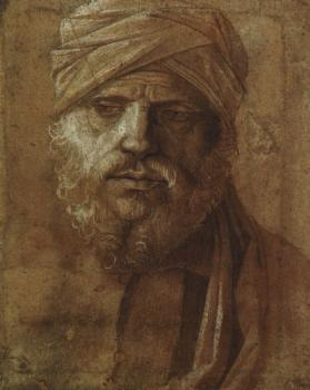 Giovanni Bellini : Man with a Turban