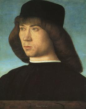 Giovanni Bellini : Portrait of a Young Man