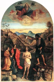 Giovanni Bellini : Baptism of Christ