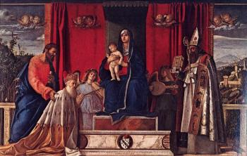 Giovanni Bellini : Barbarigo altarpiece