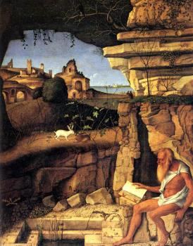 Giovanni Bellini : Bellini Giovanni Saint Jerome reading
