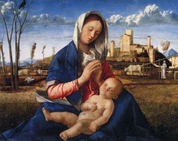 Giovanni Bellini : Bellini Giovanni The virgin and child