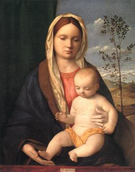 Giovanni Bellini : Madonna and child