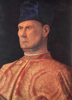 Giovanni Bellini : Portrait of a condottiere