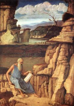 Giovanni Bellini : St Jerome reading