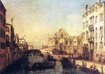 Bernardo Bellotto : The Scuola of San Marco
