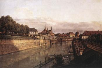 Bernardo Bellotto : Zwinger Waterway