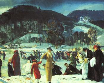 George Bellows : Love of Winter