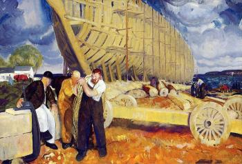George Bellows : Builders of Ships