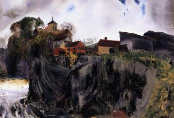 George Bellows : Cliffs at Eddyville