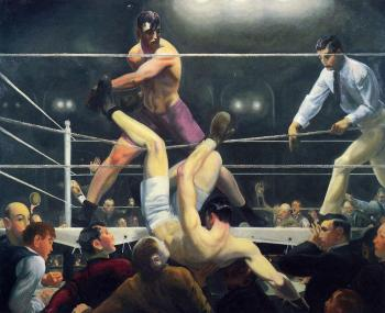George Bellows : Dempsey and Firpo