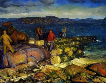 George Bellows : Dock Builders