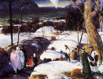 George Bellows : Easter Snow