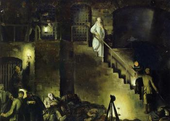 George Bellows : Edith Cavell