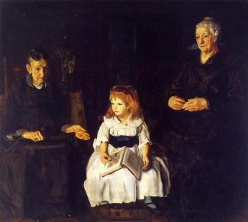 George Bellows : Elinor, Jean and Anna
