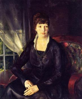 George Bellows : Emma at the Window