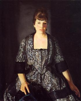 George Bellows : Emma in the Black Print