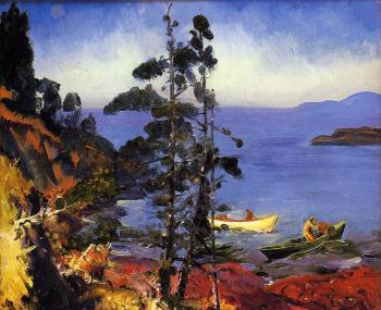 George Bellows : Evening Blue